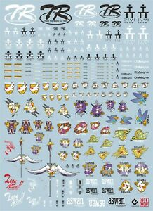 Gundam modeling water slide decal SIMP sticker A23 AOZ Advanced Of Zeta Bunnies