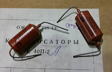 Paire (2) Capacitors condensateurs PIO Russe 0.022mF, NOS, comme vitamin Q