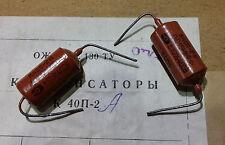 Paire (2) Capacitors condensateurs PIO Russe 0.022mF, NOS, comme vitamin Q