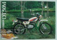 YAMAHA DT50M Motorcycle Sales Brochure c1980 #LIT-3MC-0107322-80E