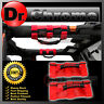 Extreme Sport RED Rear Side Bar Grab Handle Pair for 87-16 Jeep Wrangler JK TJ Y