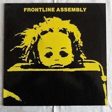 Frontline Assembly - State of Mind,1987, Orgil. LP, Dossier-ST 7547