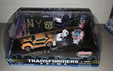 Transformers Prime 2011 NYCC Exclusive FIRST EDITION Bumblebee & Arcee Raf Jack