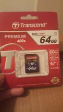 SDXC UHS-I 64GB Camera Memory Cards with High Capacity