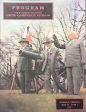 United Confederate Veterans  Sixty-first and Final Reunion Official Program