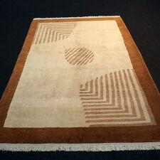 Designer Orient Teppich 241 x 172 cm Handgeknüpft Modern Beige Carpet Rug Tapis
