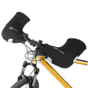 ROCKBROS MTB Road Bike Gloves Warmer Covers Handlebar Mittens Windproof Commuter