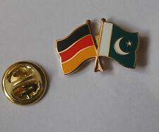 Freundschaftspin Deutschland Pakistan Pin Button Badge Anstecker Anstecknadel AS