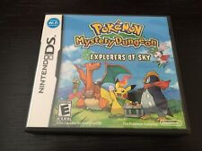 COMPLETE Pokemon Mystery Dungeon: Explorers of Sky (DS, 2009)