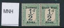 SOUTH WEST AFRICA, 1923 Postage Due ½d setting IV superb MM, SGD18, cat £15+