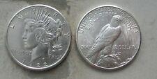 ORIGINAL ROLL 1922-S PEACE SILVER DOLLARS.. CH/GEM BU