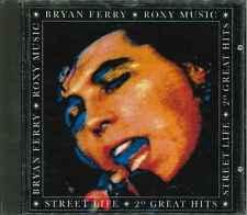 "BRYAN FERRY / ROXY MUSIC ""Street Life - 20 Great Hits"" Best Of CD-Album"