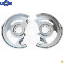 78-88 for GM A & G Body Front Disc Brake Backing Plate Shield PAIR
