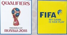 RUSSIA 2018 QUALIFIERS SET OF PATCHES BADGES PARCHES ALL COUNTRIES