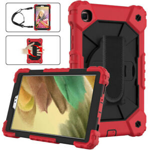 Rugged Stand Case Kids Heavy Duty Cover For Samsung Galaxy Tab A7 Lite 8.7 2021