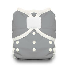 Thirsties Duo Wrap Aplix Cloth Diaper Cover in FIN