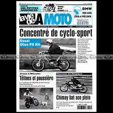 LA VIE DE LA MOTO LVM N°255 ★ CYCLO SPORT OTUS 50 P6 KIT ★ TOURIST TROPHY 1999