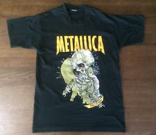 Vintage 90's Metallica Fixxxer Pushead T-Shirt ReLoad Tour 1997 Maybe LARGE Size