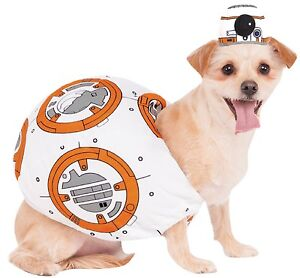 Pet Dog Cat Official Star Wars BB8 Halloween Fancy Dress Costume Outfit XS-XL