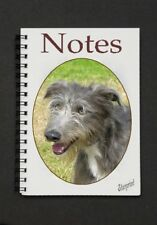 Lurcher Dog Notebook/Notepad with a small image on every page - by Starprint