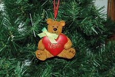 Nanna, Grandmother Christmas Ornament