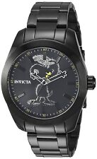 Invicta 24935 Character Collection Men's 42mm Black-Tone Steel Black Dial Watch