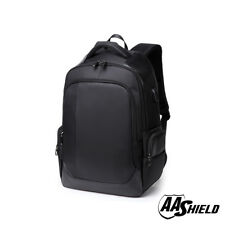 AA Shield Safe Backpack Ballistic Plate Insert Body Armor Bulletproof Bag Black