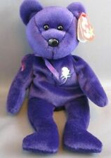 Rare Spaced Mem Fund 1st Edition 1997 TY Princess Diana beanie baby, China, MINT