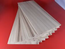 1 off Solid English Elm Wood sheet/ wood sheets 340mm x 150mm x 3mm, 4mm or 6mm
