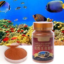 Aquarium Nutrition Brine Shrimp Shelled Eggs Healthy Fish Food Feeding