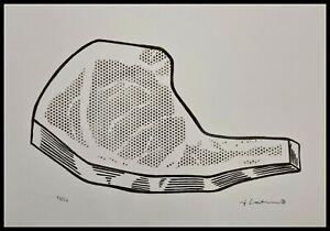 ROY LICHTENSTEIN * Steak * signed lithograph * limited # 68/150