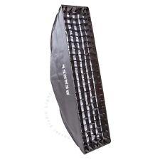Bessel 90cm x 22cm Softbox Stripbox + 2 diffusers & 4cm grid Elinchrom EL-Fit