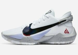Nike Zoom Freak 2 - CHOOSE SIZE - CK5424-100 Black Cement Giannis Greek OG QS