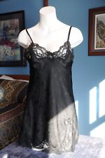Vintage Fantasies By Morgan Taylor Chemise, Black, Size Small
