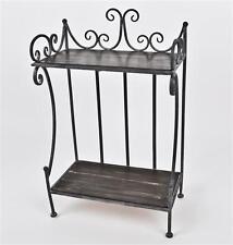 moderne wandregale aus metall ebay. Black Bedroom Furniture Sets. Home Design Ideas