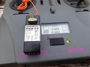 Sender Multiplex plus Empfänger