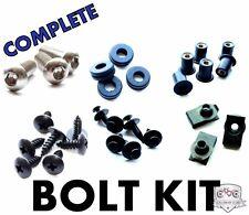 Complete Black Fairing Bolt Kit Body Screws for Suzuki GSXR 1000 2007-2008