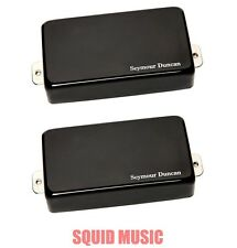 Seymour Duncan Blackouts AHB-1s Shiny Black Chrome Set (FREE WORLDWIDE SHIPPING)