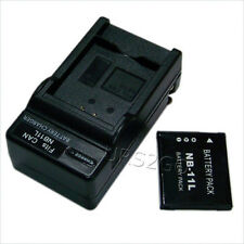 2in1 680mAh NB-11L Battery External Charger F Canon PowerShot ELPH 340 HS Camera