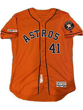 MLB Authenticated - Brad Peacock PITCHED In This Houston Astros Jersey!!
