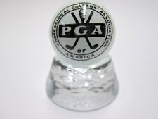 PGA GOLF ASSOCIATION  LOGO ON PEARL WHITE MARBLE