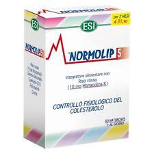 NORMOLIP 5 60 CAPSULE ESI - INTEGRATORE CONTROLLO COLESTEROLO