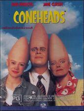 CONEHEADS (Dan AYKROYD Jane CURTIN Phil HARTMAN SINBAD) Comedy DVD NEW Region 4