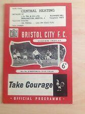 Bristol City v Brentford 1964-65 programme