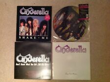 Cinderella vinyl collection. All first editions.