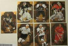 2008-09 Upper Deck Hockey Artifacts (Lot of 7 Cards) Crosby, Howe, Fleury,