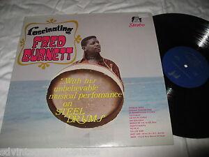 Fred Burnett Fascinating Steel Drums Elite Label Reggae Africa Caribbean VG++