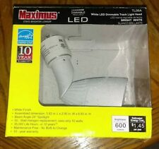 Maximus 3.75 in. White LED Dimmable Track Lighting Spot Head R1