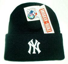 New York Yankees Official licensed Baseball Knit Beanie Hat Blue