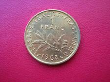 Pièces de monnaie françaises de 1 franc 1 francs or